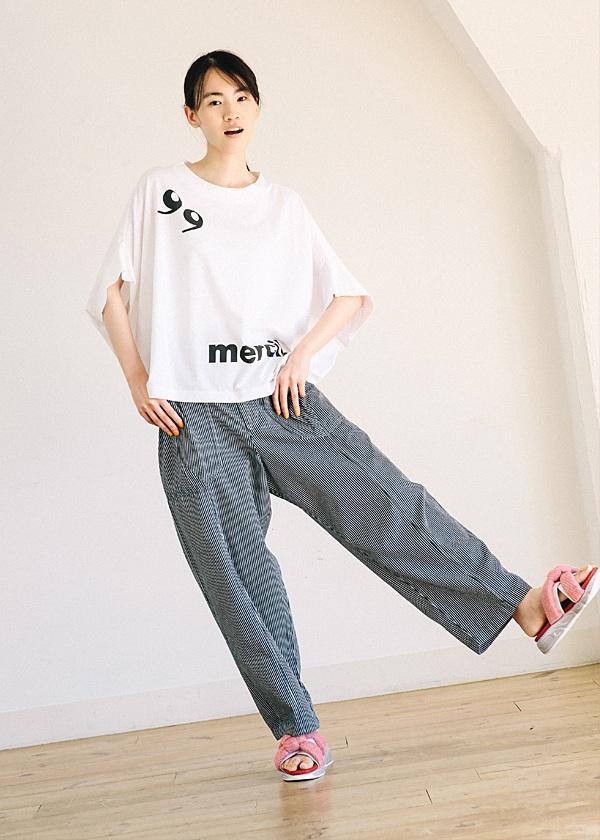 メルシーボークー、 / B:カンマちゃんティー / Tシャツ