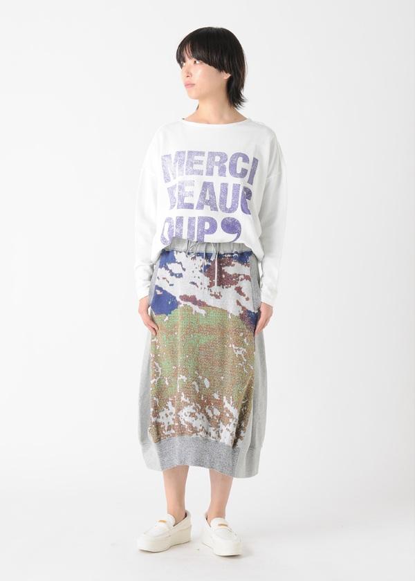 メルシーボークー、 / 地球ジャガード / スカート