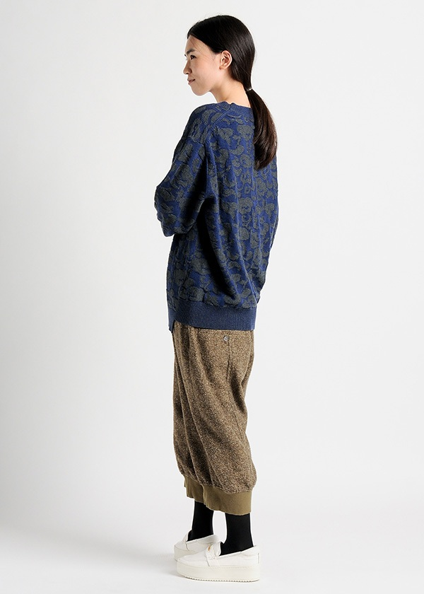 メルシーボークー、 / B:お花ニット / セーター