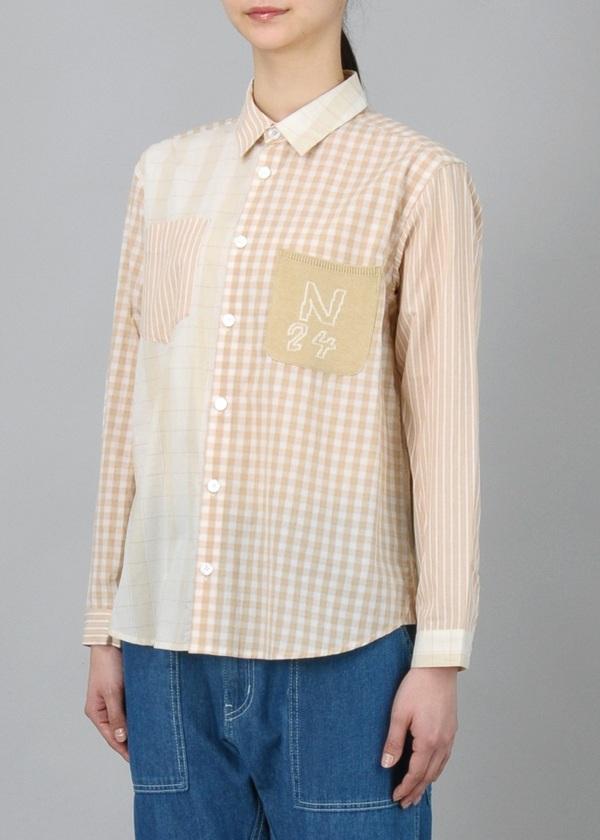 ネ・ネット / ニットポッケシャツ / シャツ