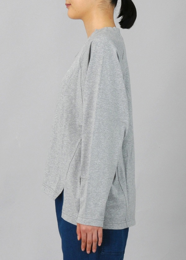 ネ・ネット / いつもマムアンと一緒すっきり見えるロングTシャツ / カットソー