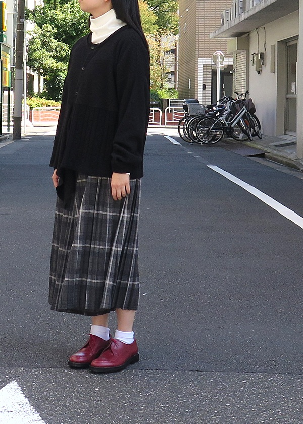 ネ・ネット / アシメパッチジャージ / カーディガン