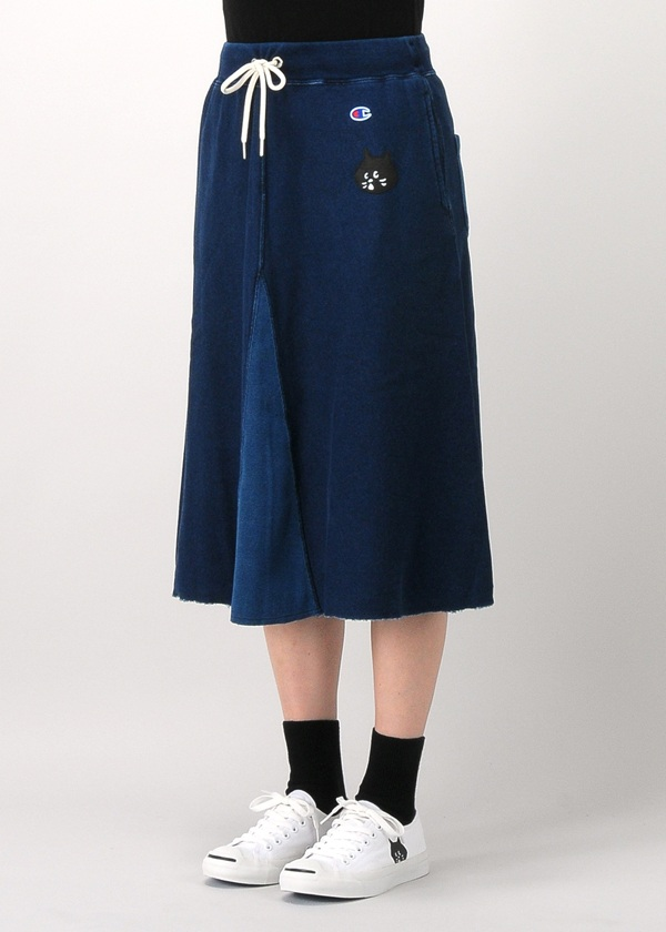 にゃー / S にゃーとチャンピオンのデニムスカート / スカート