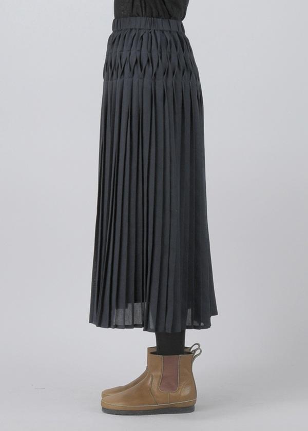 Plantation / S ジョーゼットプリーツ / スカート