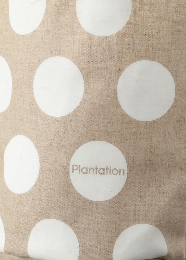 Plantation / ラミネートLOGOトート / バッグ