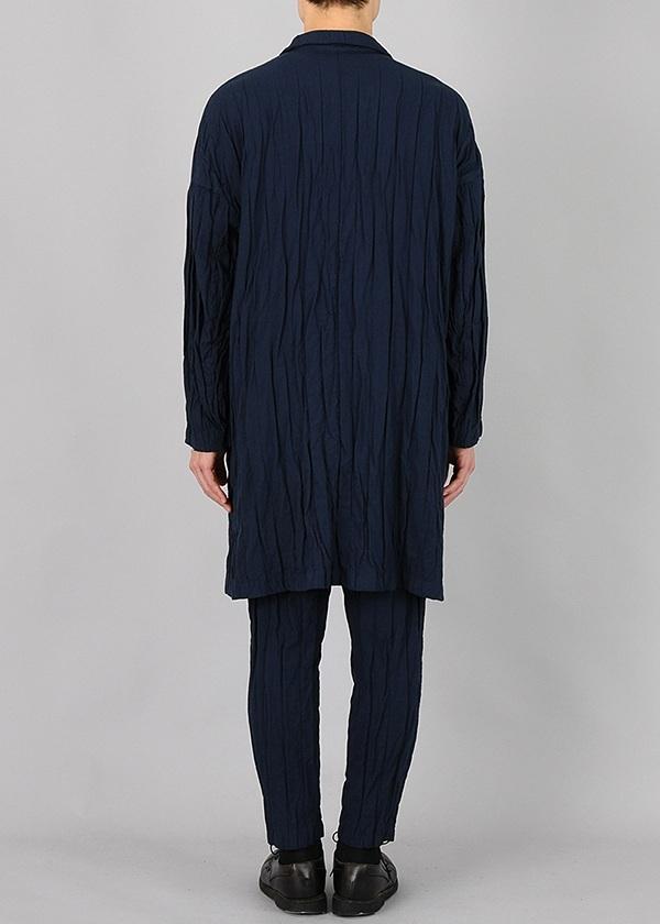 S stripe double cloth - coat