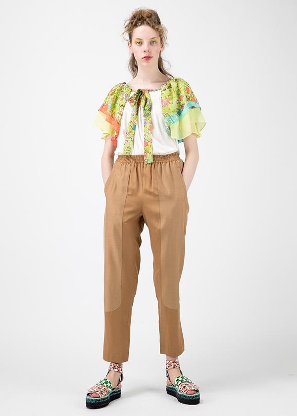 TSUMORI CHISATO / ニューホロスコープドッキングT / Tシャツ