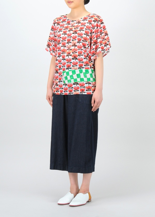 TSUMORI CHISATO / ニュージーフラワーT / カットソー