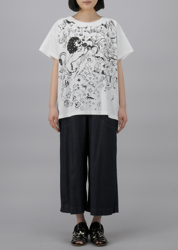 TSUMORI CHISATO / ホロスコーププリントT / カットソー