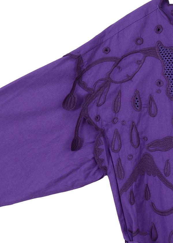 TSUMORI CHISATO / S バタフライリボン刺繍 / ワンピース