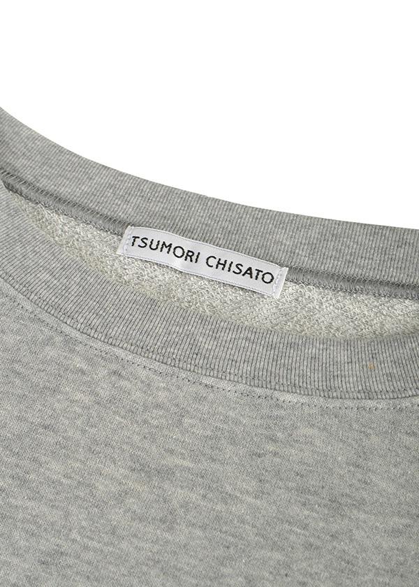 TSUMORI CHISATO / S ガーゼ裏毛 / カットソー