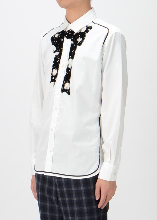 TSUMORI CHISATO / S メンズ トゥインクルアップルフロッキーシャツ / シャツ