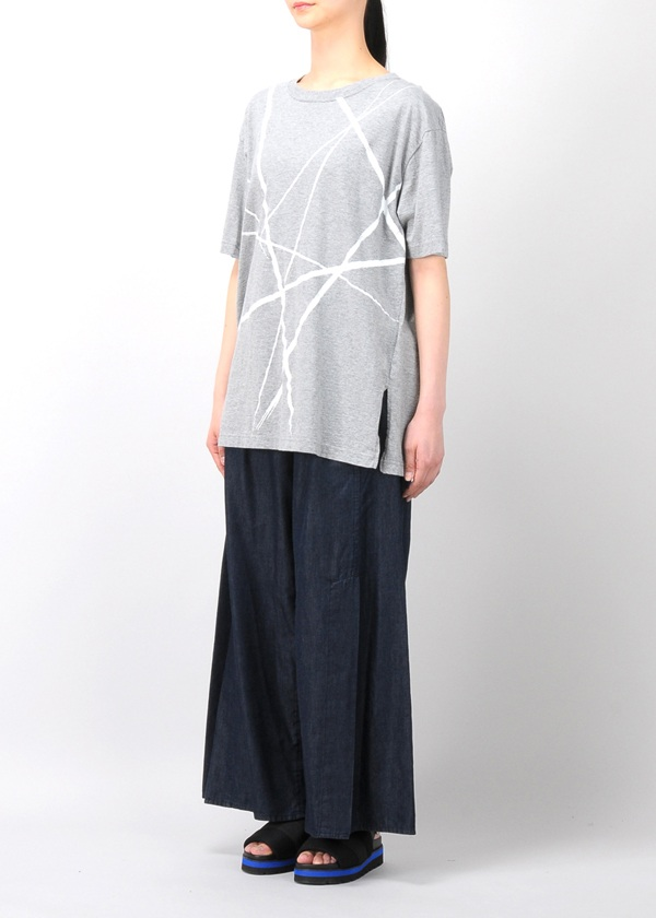 ZUCCa / S ラインプリントTシャツ / Tシャツ