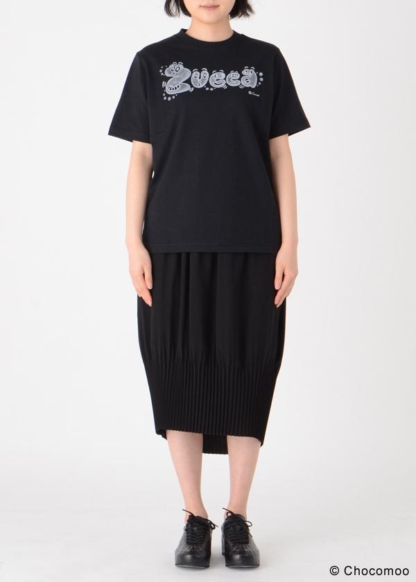 ZUCCa / Chocomoo×ZUCCaロゴT / Tシャツ