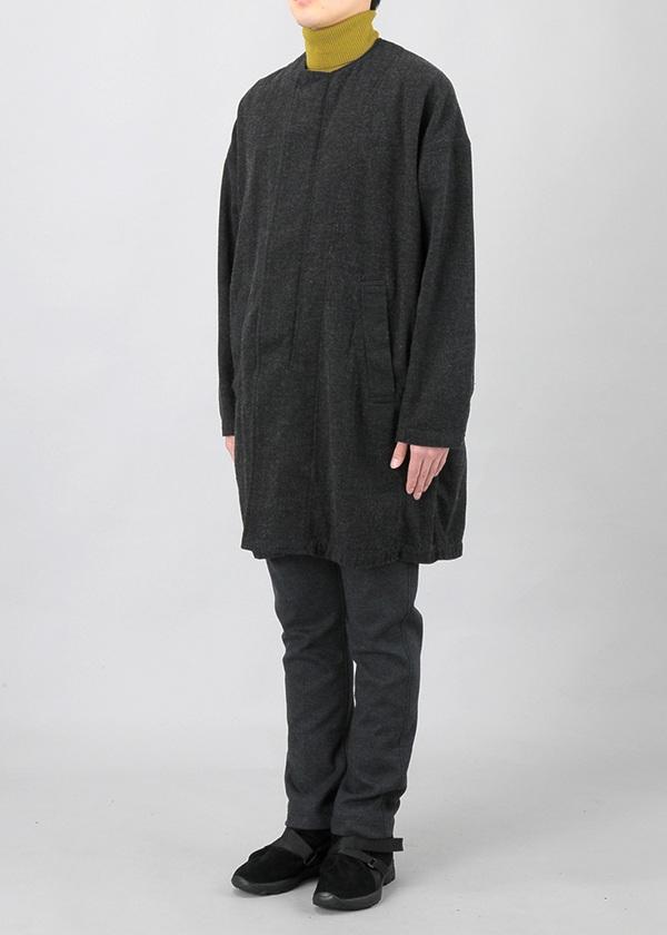 ZUCCa / S メンズ  ヘリンボーンデニム / コート