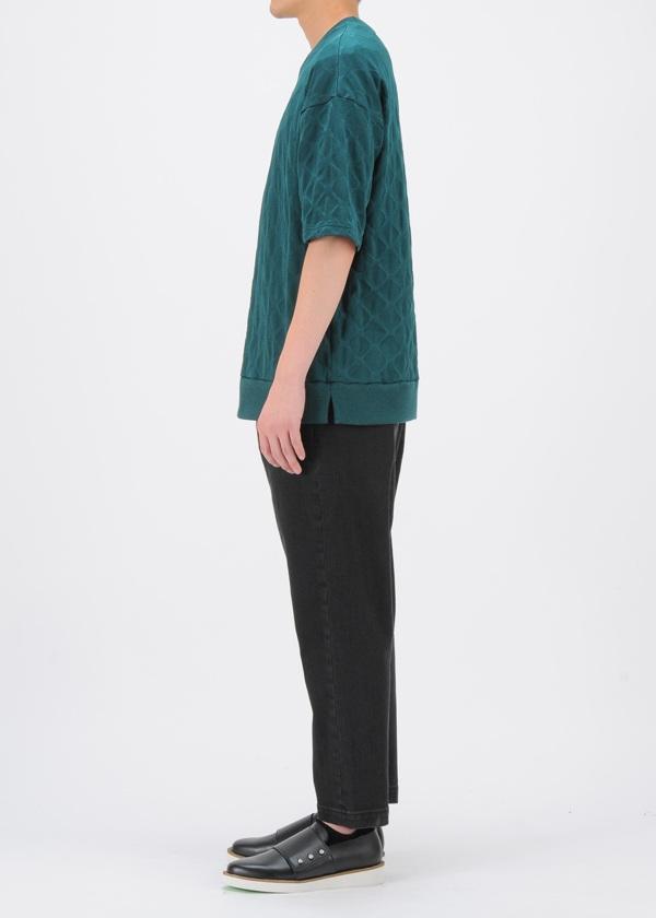 ZUCCa / S メンズ サークルジャガード / Tシャツ