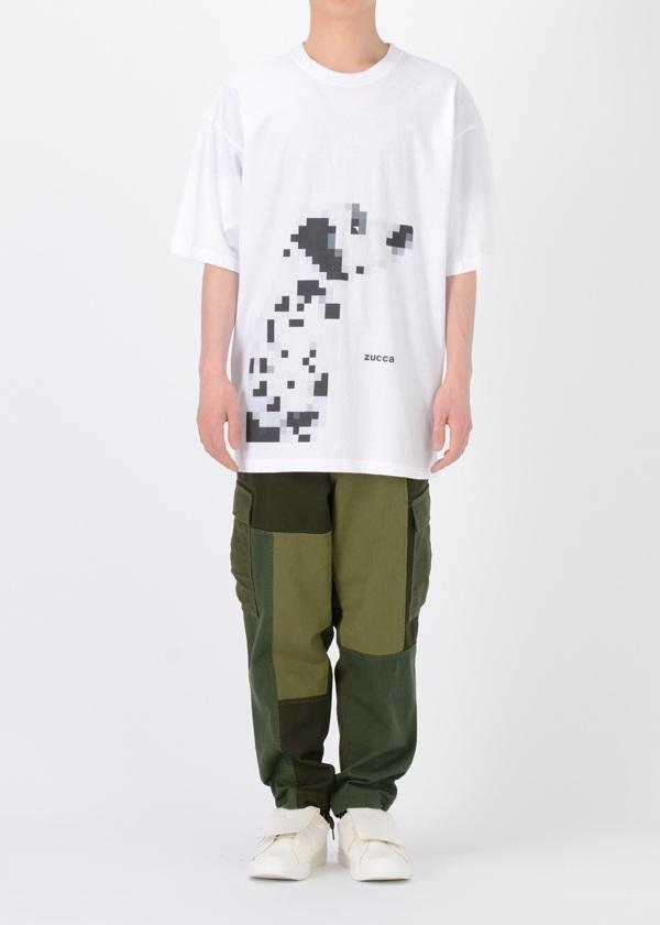 ZUCCa / GF メンズ ダルメシアンTシャツ / カットソー