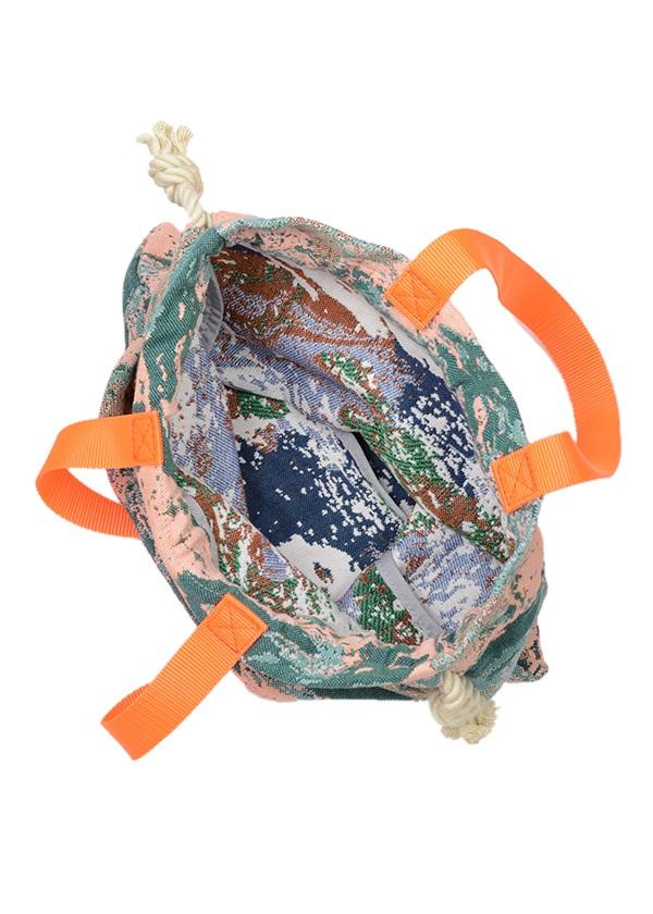 メルシーボークー、 / S:地球柄巾着 / バッグ