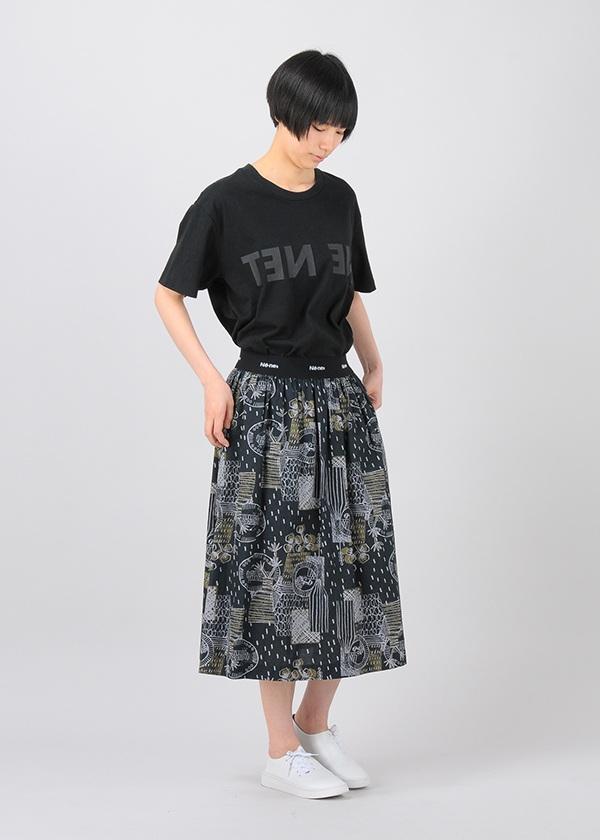 ネ・ネット / SP フラワーベース / スカート