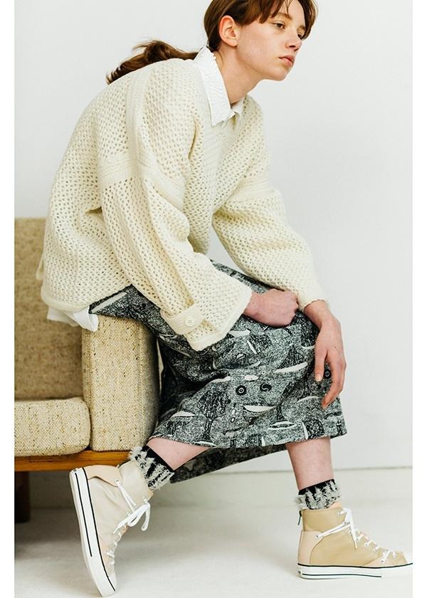 ネ・ネット / vesselジャガード / スカート