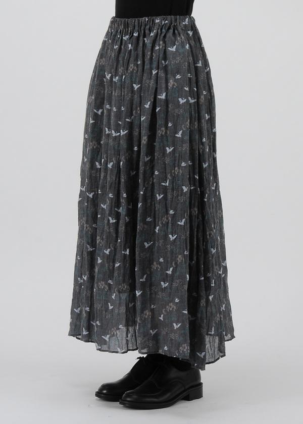 ネ・ネット / S ハナトリプリーツ / スカート