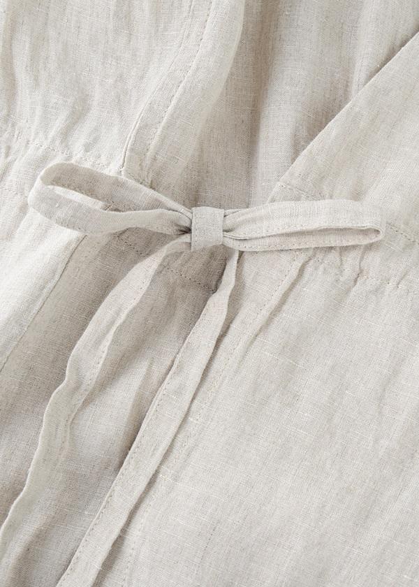 Plantation / S (N)Fine Linen / ライトコート