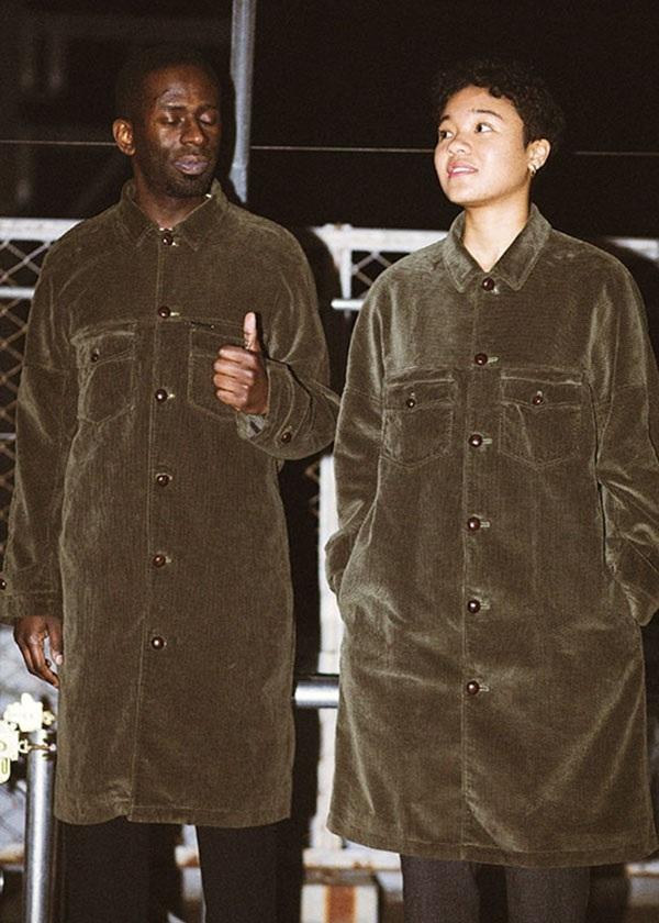 S corduroy poket coat