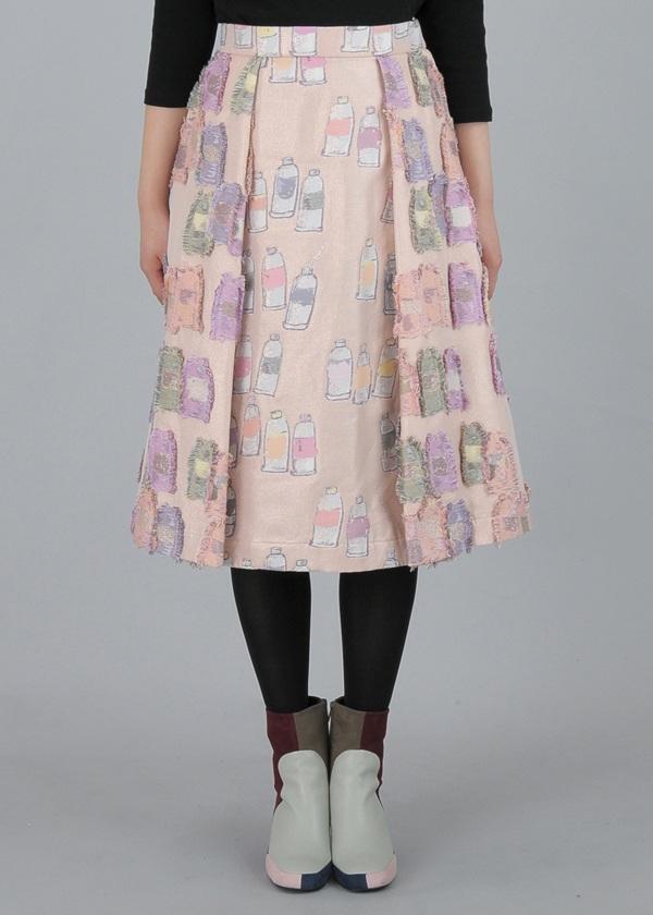 TSUMORI CHISATO / カラフルチューブジャガード / スカート