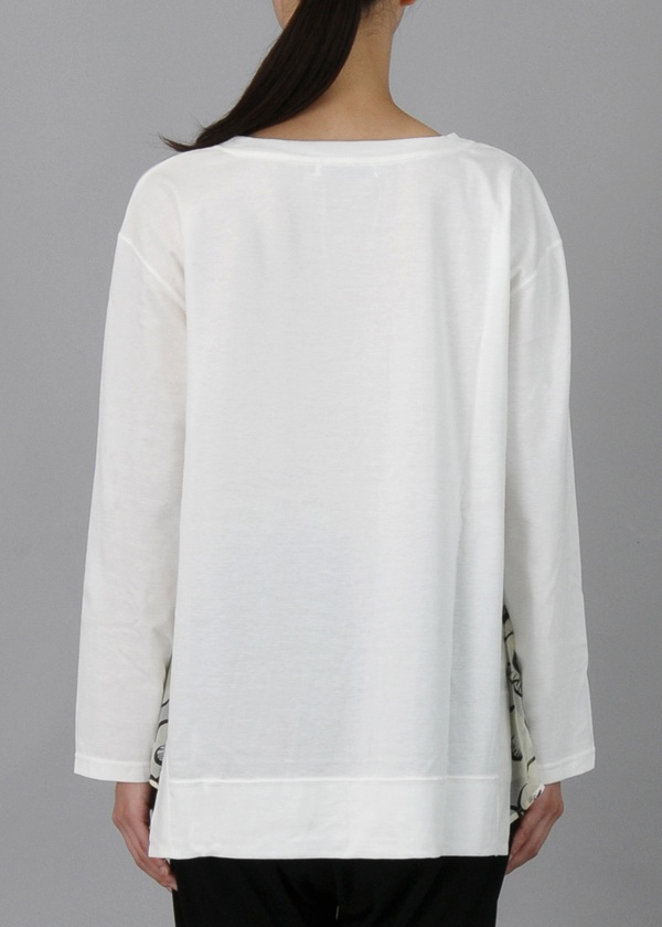 TSUMORI CHISATO / S フラワーピラミッドオパールT / Tシャツ