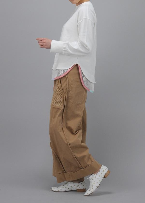 TSUMORI CHISATO / S バーリントン&パンチング / パンツ