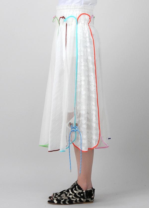TSUMORI CHISATO / アンブレラドッキング / スカート