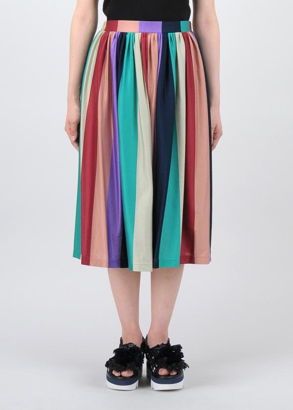 TSUMORI CHISATO / マルチボーダーT / スカート