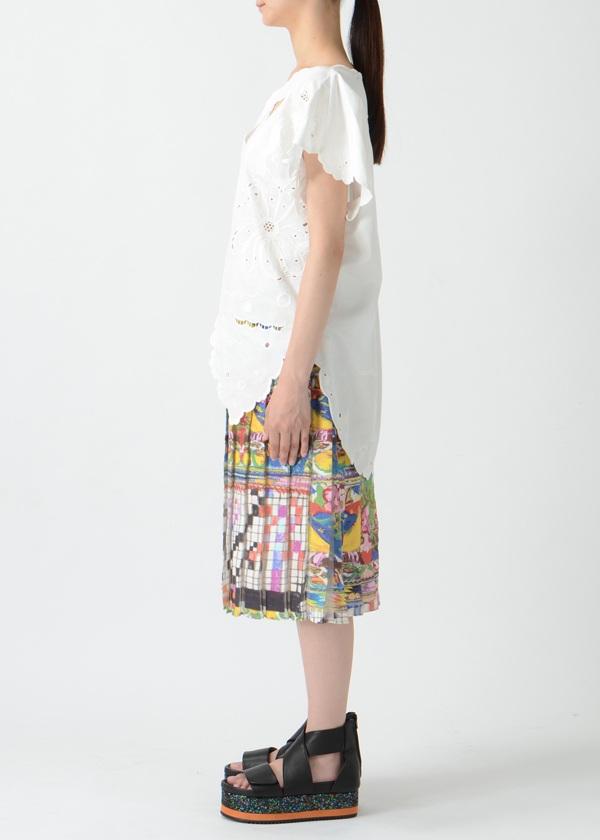 TSUMORI CHISATO / S バタフライリボン刺繍 / ブラウス