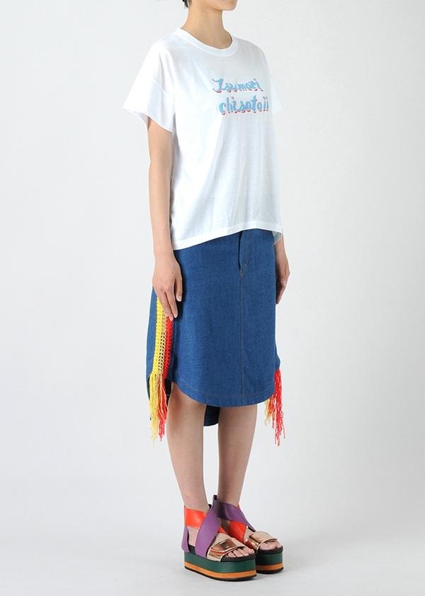 TSUMORI CHISATO / S TCロゴT / Tシャツ