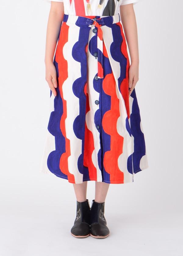 TSUMORI CHISATO / O&Oストレッチデニム / スカート