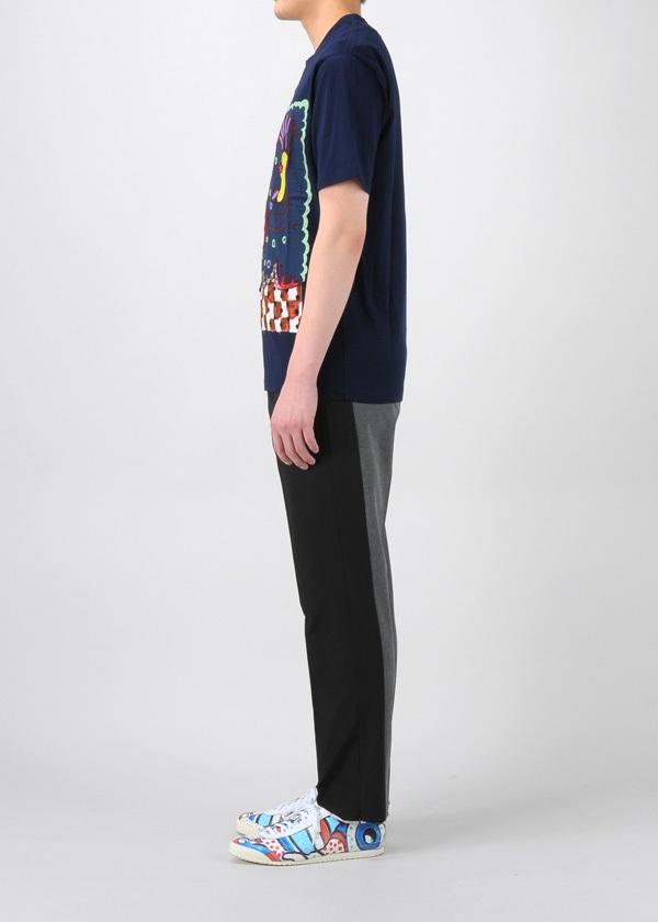 TSUMORI CHISATO / S メンズ 海洋生物エンブロンダリーT / Tシャツ