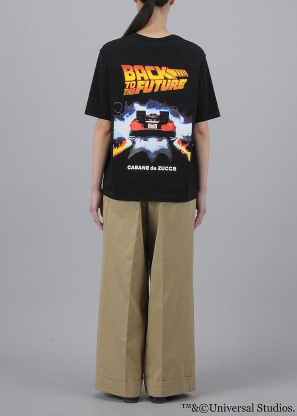 ZUCCa / 《BACK TO THE FUTURE × CABANE de ZUCCa》 DE LOREAN T 2 / Tシャツ