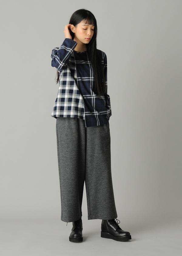ZUCCa / S ドッキングチェック / シャツ