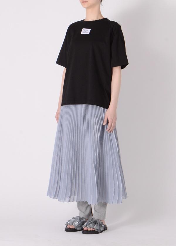 ZUCCa / ピンタックプリーツニット / スカート