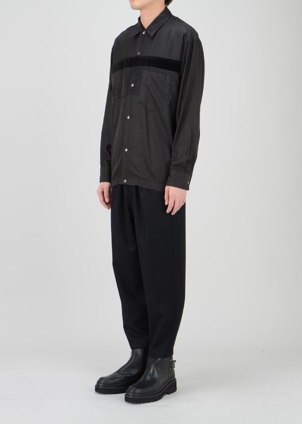 ZUCCa / S メンズ コットンキュプラシャツ / 長袖シャツ
