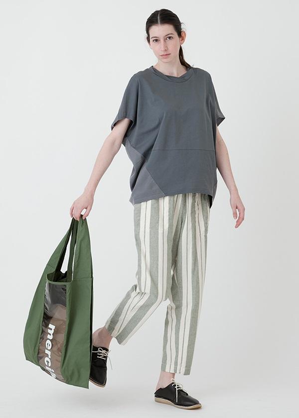 メルシーボークー、/ 麻シマ / パンツ