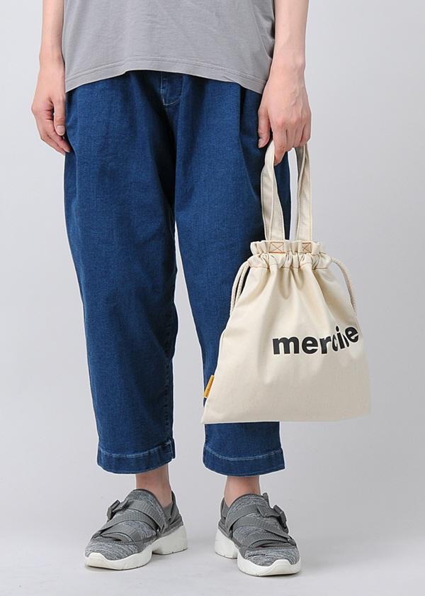 メルシーボークー、 / 小巾着デニム / バッグ