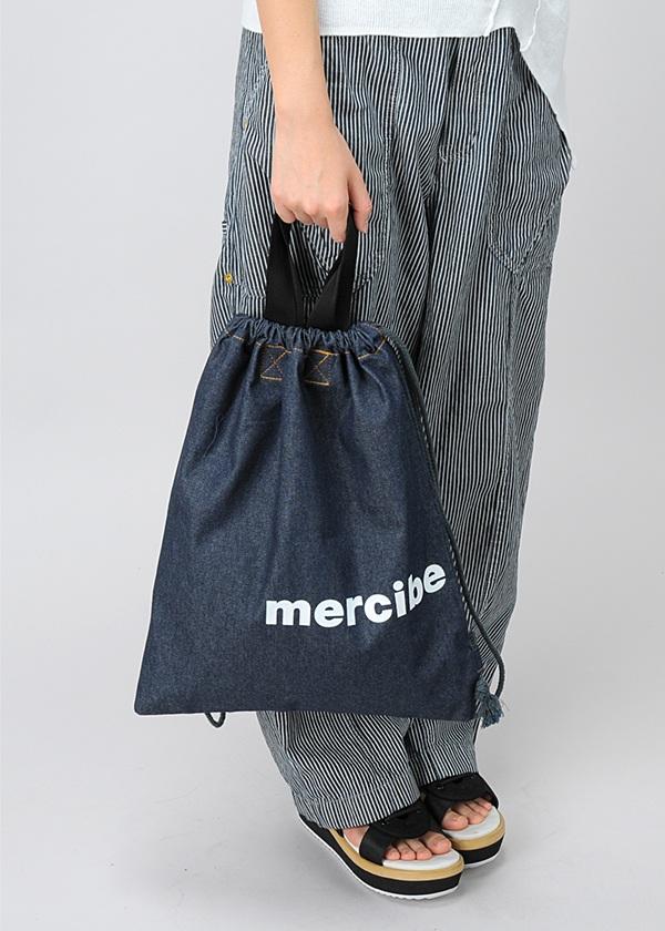 メルシーボークー、 / S 大巾着デニム / バッグ