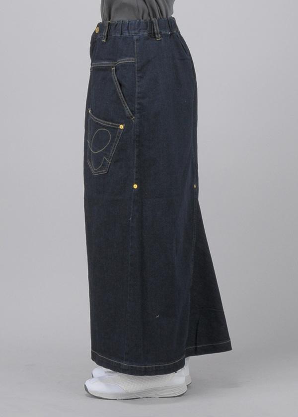 メルシーボークー、 / (O) B:うしろまえデニム / デニムスカート