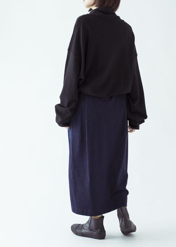 ネ・ネット / S デニムプリーツ / スカート