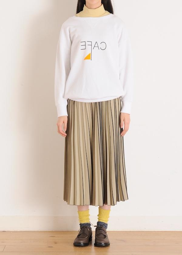 ネ・ネット / シャドウストライプ / スカート