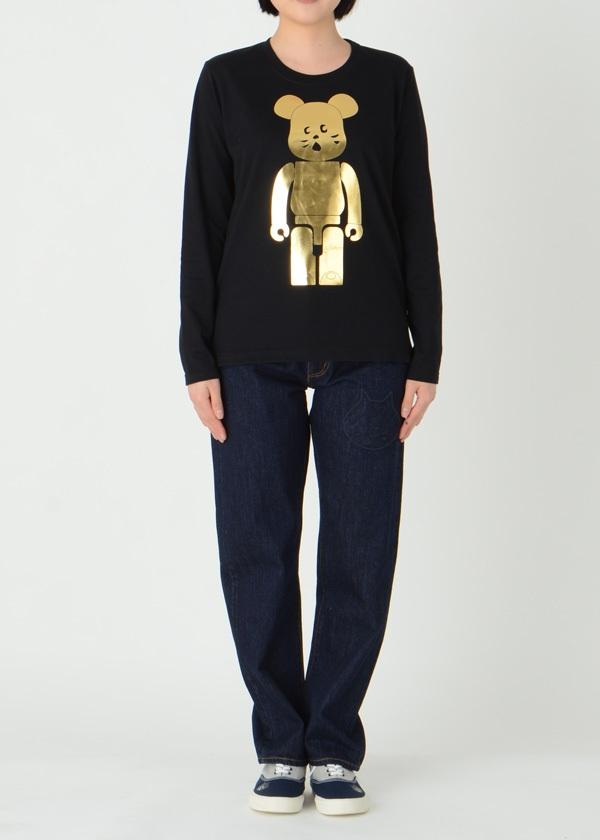 にゃー / GF にゃー × BE@RBRICK GOLD T / Tシャツ