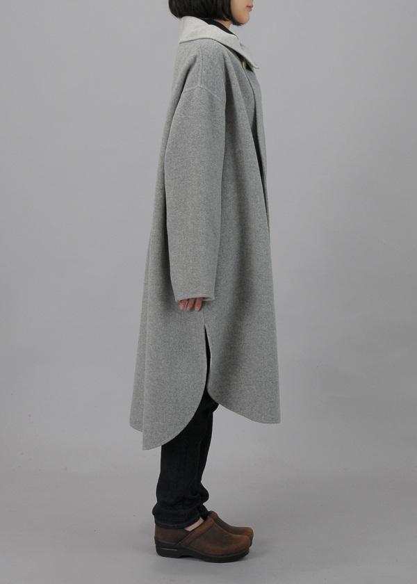 Plantation / Rever Wool / ロングコート