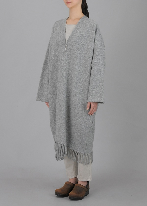Plantation / S Milled Wool Fringe / コート