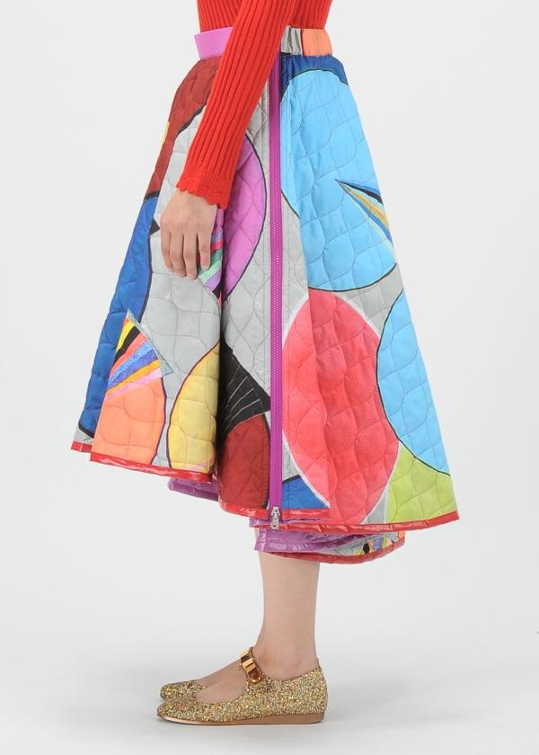 TSUMORI CHISATO / サークルプリント / スカート